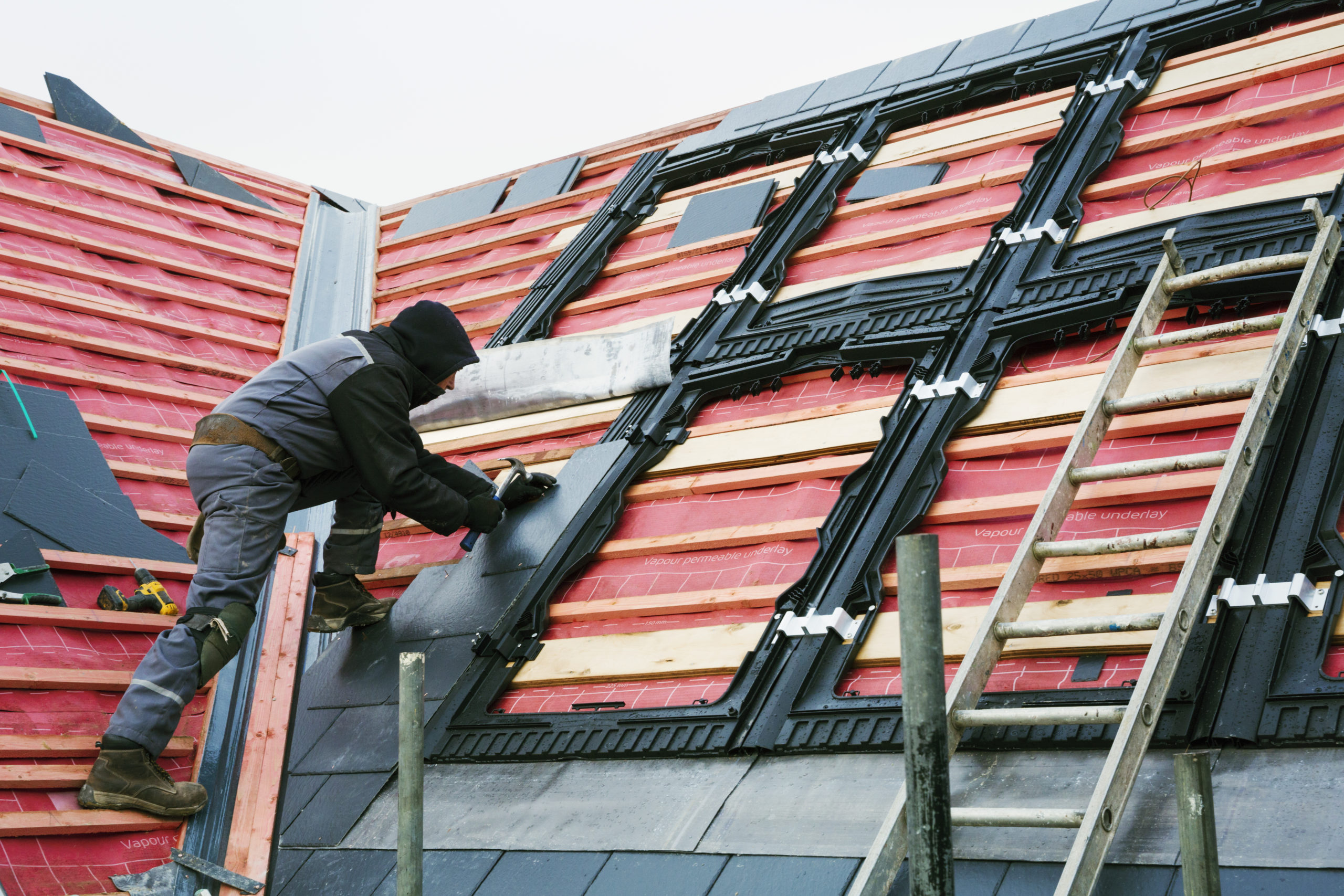 Learn about what roofing materials your roof needs!